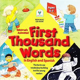 Usborne's Animated First Thousand Words CD-ROM